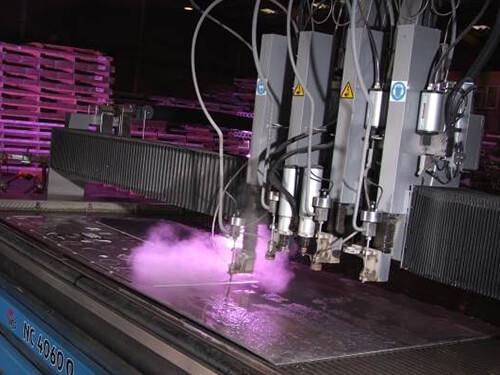 Waterjet Cut Aluminium