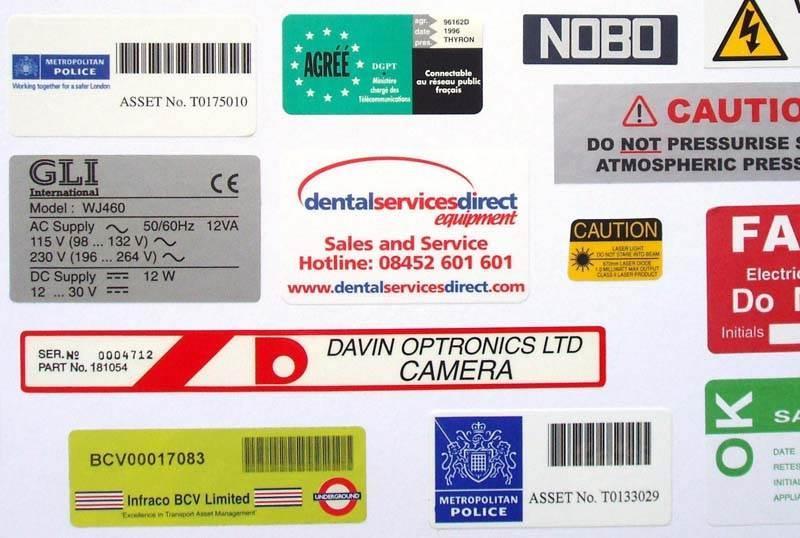 Reel Labels