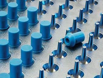 High pressure capacitor seals