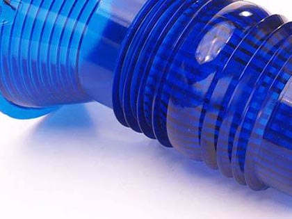 Injection moulded Lenses for signalling industry