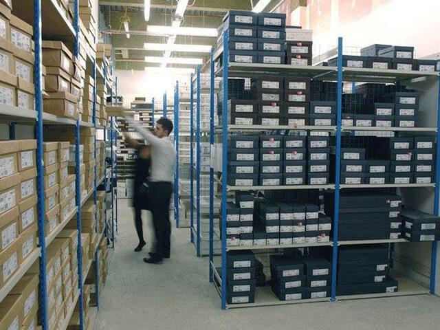 Stockroom Shelving and Racking
