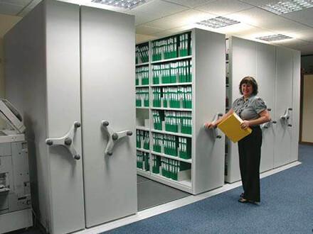 Mobile Storage Shelving