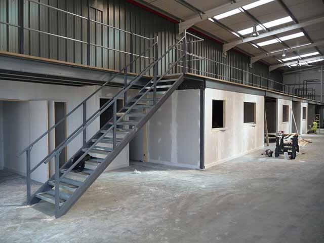 Mezzanine Floor Installation