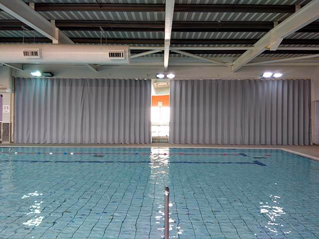Swimming Pool Partitioning