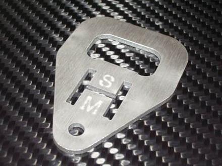 Stainless Steel WaterJet Cut Part