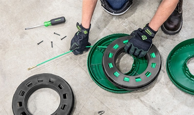 Greenlee® REEL-X™ Line of Electrical Fish Tapes