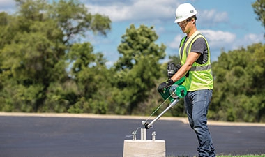 Greenlee® Cordless G1 Versi-Tugger™ Handheld Puller is versatile and portable.