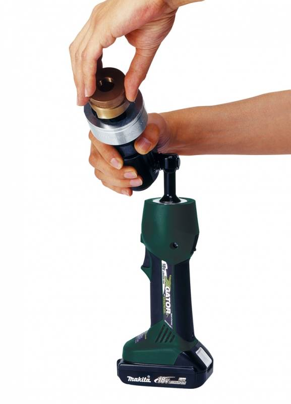 New Portable Punch Driver from Greenlee - LS50Lflex