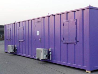 40ft x 10ft Air Conditioned Steel Office Unit