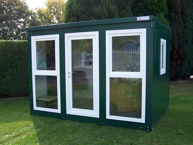 Expandakabin - Flat Pack Office Cabin