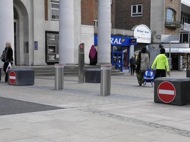 City Centre Pedestrian Areas
