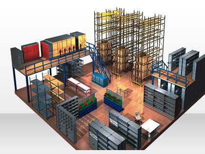Raised Storage Mezzanine Floors