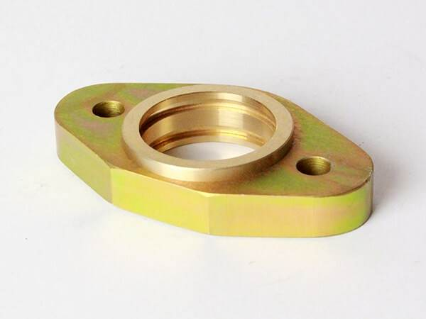 Brass Inserted into Zinc Steel
