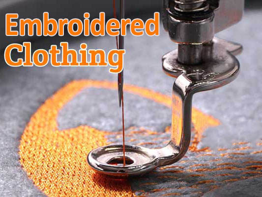 Embroidered Clothing & Printing