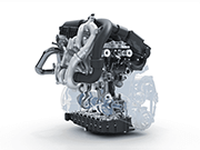 Downsizing Engine CAD Model