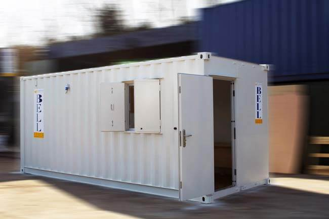 20ft shipping container - office