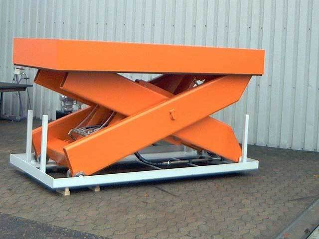 Automotive Heavy Duty Scissor Lift Platform
