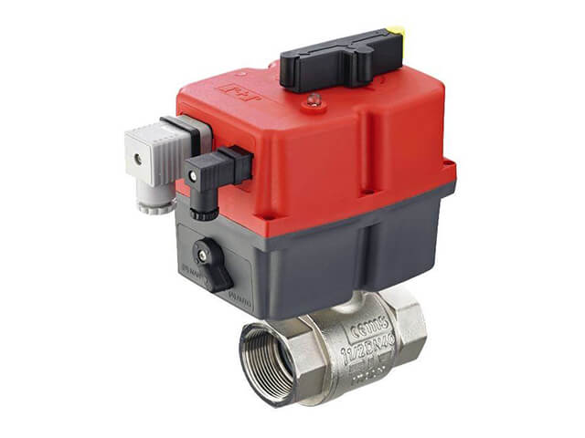 Actuated ball & butterfly valves from stock