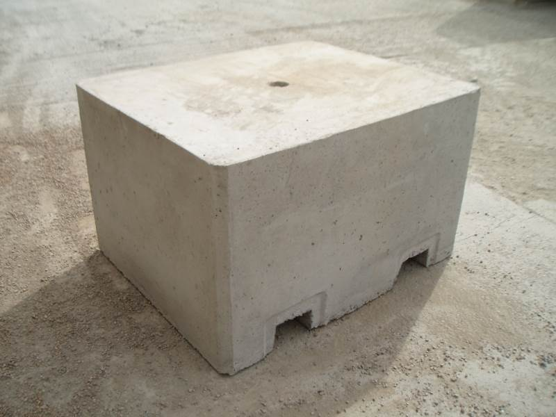 Concrete Security Block