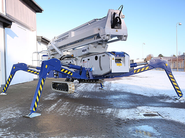 Tracked Spider MEWP Hire