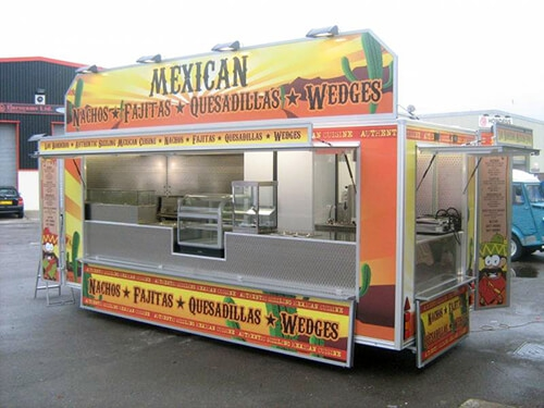 Branded Catering Trailers