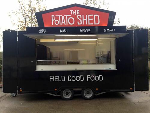 Potato Catering Trailer