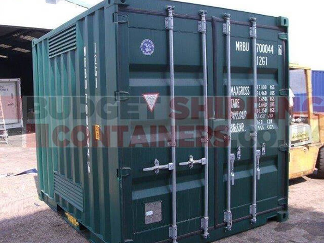 10ft Chemical Storage Container