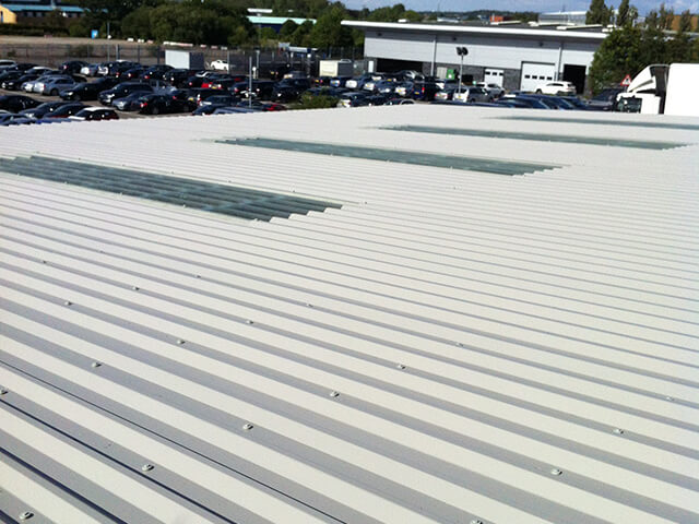 Sheet Metal Roof Cladding