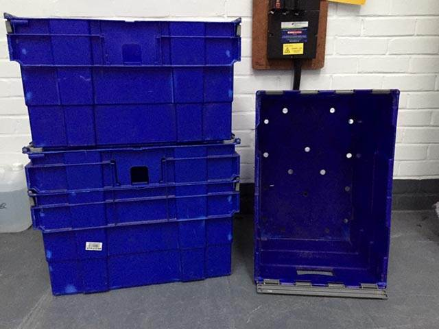 Bargain Used Industrial Containers
