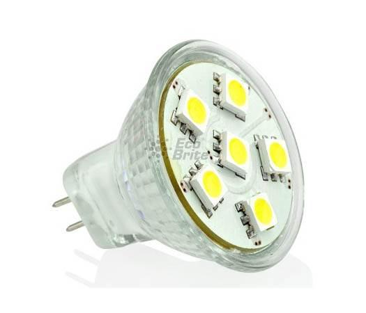 1.1W MR11 6SMD LED