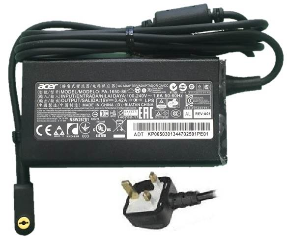 Acer chargers for laptops and notebooks