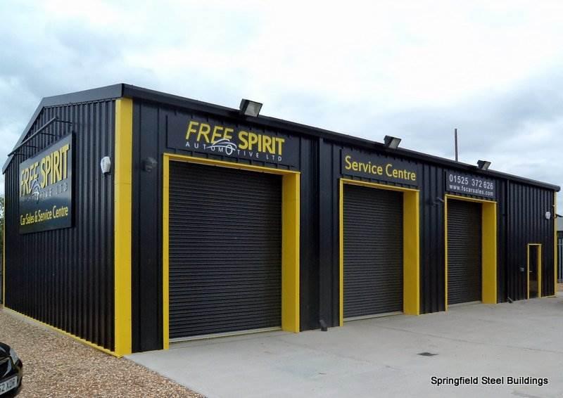 Vehicle Workshop Steel Building