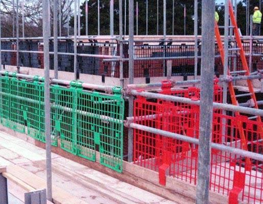 Brickguards on Site