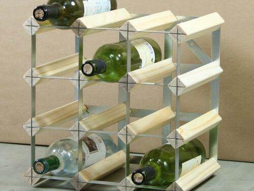 12 Bottle Wine Racks In Kit Form
