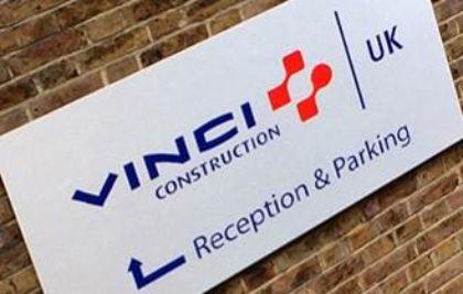 Sussex Partnership NHS Trust, aluminium sign tray.