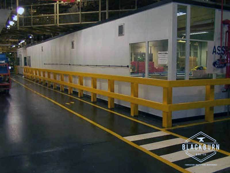 Painted Finish Safety Barrier