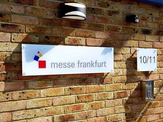 Acrylic Office Signage