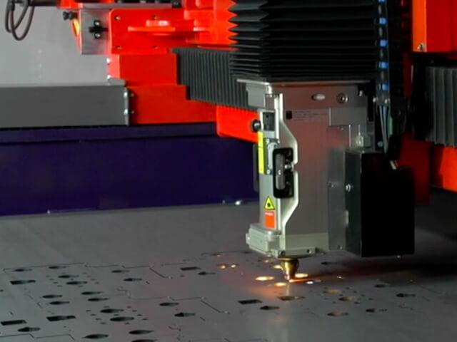 High Speed Galvanised Steel Cutting