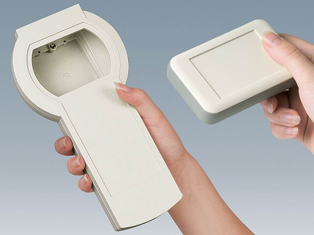 Handheld enclosures for portable electronics