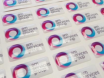3D Domed Labels