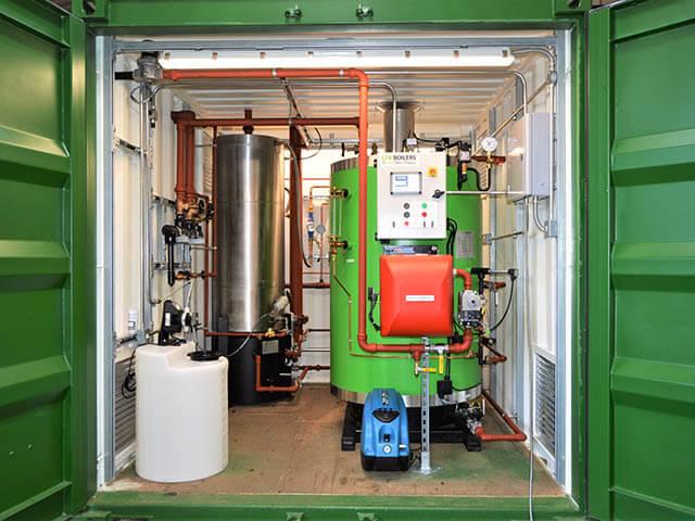 Steam Boiler House Design