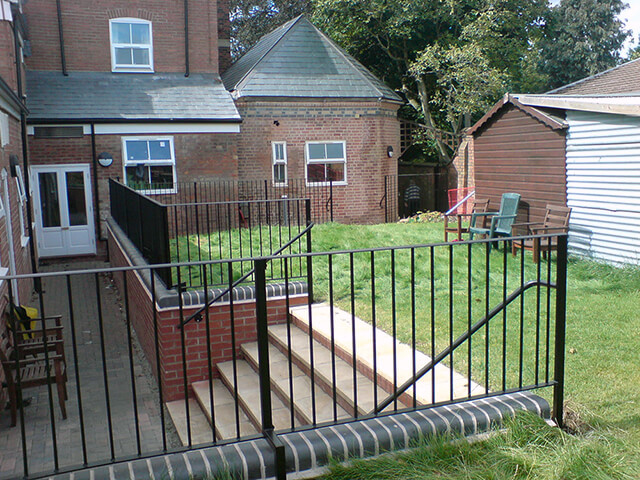 Custom Metal Railings