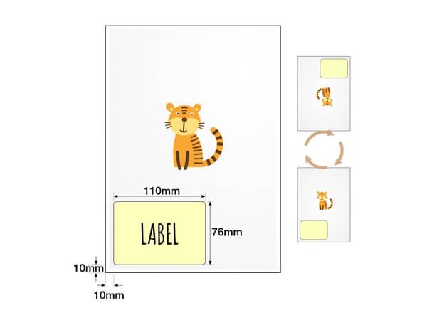 Integrated Address Labels