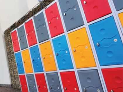 Plastic Lockers