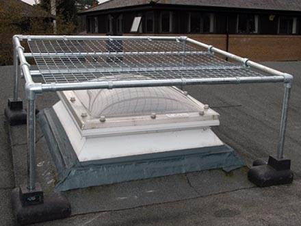 Kee Dome Rooflight Fall Protection