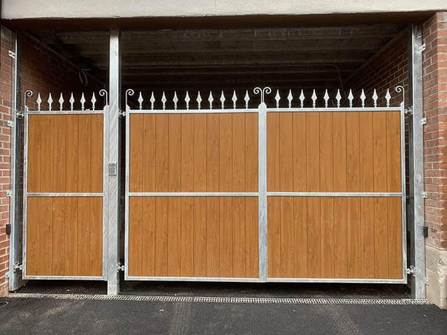 Commercial Wrought Iron Gates