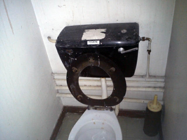 Asbestos Cistern