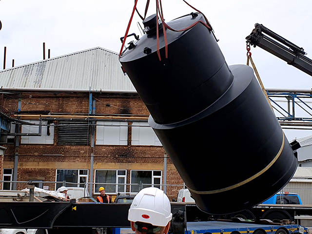Bespoke 30,000L HDPE Tank Installation
