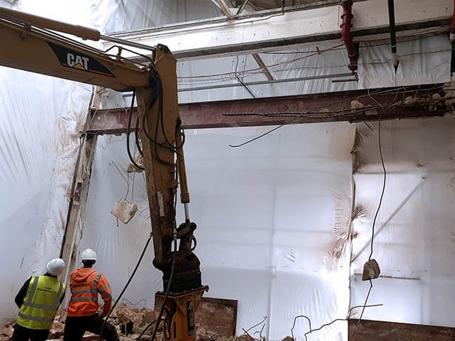 Dividing Wall Demolition