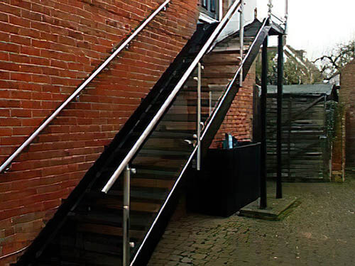 Stainless Steel Architectural Staircases